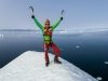 Klemen Premrl je na festivalu predstavil svoje dogodivščine na ledu Kanade in Grenlandije